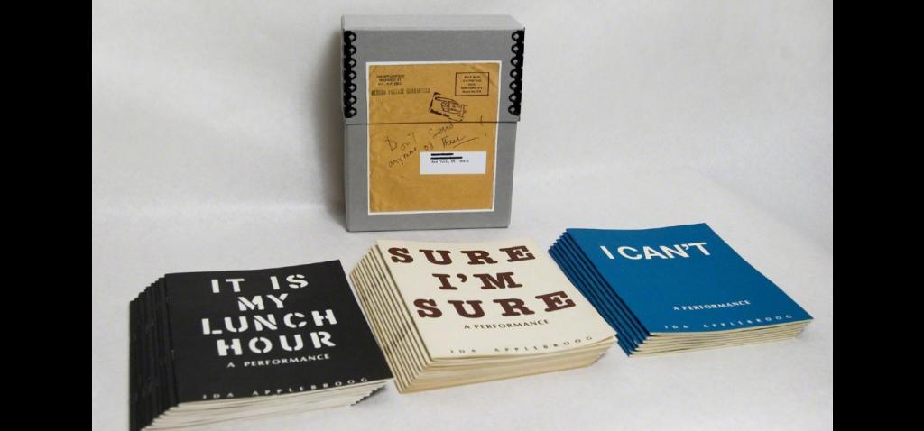 Ida Applebroog,  A Performance, 1977-1981  Diane Villani Editions